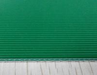 Straight Stripe Green PVC Conveyor Belt 3.0mm
